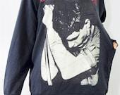 IAN CURTIS Joy Division Post Punk Rock Music T-Shirt Long Sleeve T-Shirt Sweater Unisex Shirt Women Shirt Men Shirt Punk Rock Shirt Size XL
