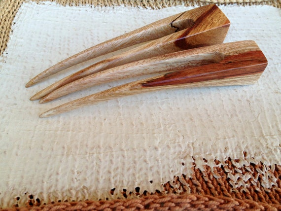 Cubic Hairforks in Spalted Golden Wattle Wood