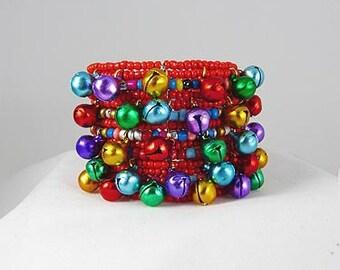 JINGLE BELL CUFF charm bracelet