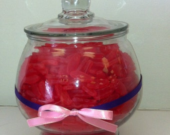 Birthday wedding baby shower candy jar to match your theme