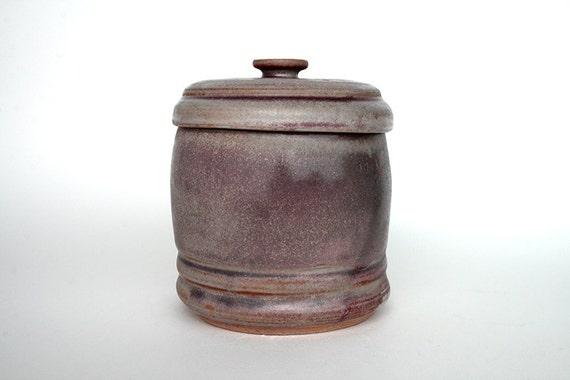 Lidded jar - Dusty Mauve