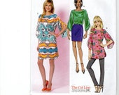 Butterick 5815    Misses Top, Tunic and Dress     UNCUT  Sizes:  8, 10, 12, 14, 16