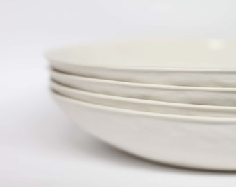 organic pasta bowl - porcelain (milk colour)