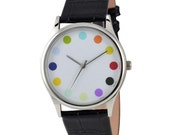 12 Color Dot Watch