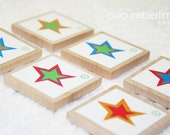 6 Blank Star Set