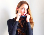 The Signature Checkerboard Textured Skinny Scarf
