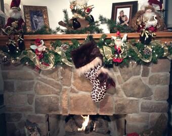 Giraffe Stocking