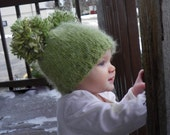 Fall baby hat Lucky Baby Hat toddler children clothing 2 years and up Made to Order
