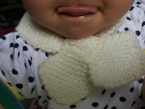 Baby Scarf  Bow Tie