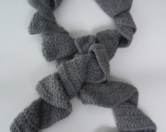 Fashion Scarf, Potato Chip Scarf, Twisted Scarf, Women's  Scarf, Teen Girl's Scarf