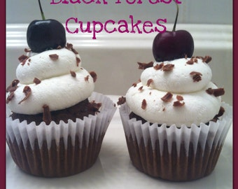 Black Forest Cupcakes - Made to Order