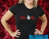 Twilight Breaking Dawn Inspired Bite Me Unisex or Womens Shirt --Choice of Sm-XL With Gift