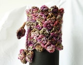 Boot Cuffs - Boot Toppers- Leg Warmers - Cup Cozy - Hook Holder - Cowl - Neckwarmer - PDF pattern