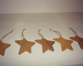 Set of Five Mini Star Ornaments
