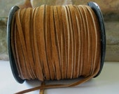 Brown Suede Lace 3MM Quality Genuine suede Leather Cord 4Yds
