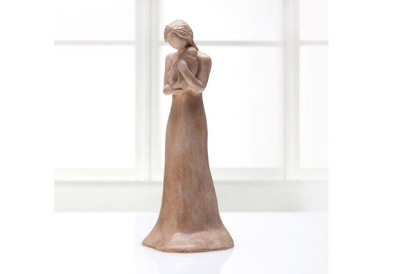 Child of Mine - Mother and Baby Sculpture