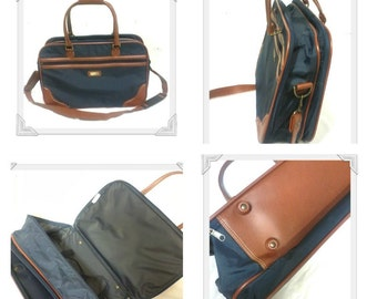 Navy Tote/ Collapsable Suitcase/Weekender