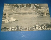 Vintage 1939 Sydney N.S.W. Around and About - Souvenir Booklet of Photographs - Anon