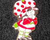 """It's """"Berry Sweet"""", Vintage Strawberry Shortcake, American Greetings Corp.    Necklace & Pendant"""