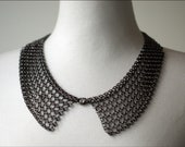 Dark silver metal color necklace  Vintage style.. high quality chain and materials