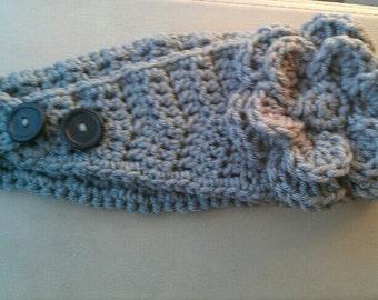 Free Crochet Chevron Ear Warmer Pattern : PATTERN Adult/Teen Adjustable Ear Warmer/Headband Crochet ...