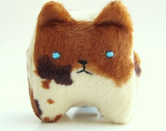 Cyrus the Calico Kitty: Tiny, Happy, and Adorable Stuffed Plush Kitten Cat