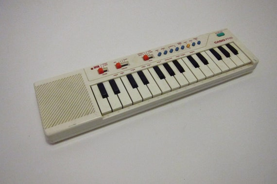 Casio keyboard calculator vintage PT- 10 portable