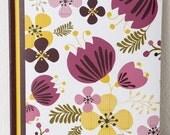 Purple Tulips Journal: Beautiful&feminine journal from hand drawn designs.