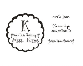 Teacher gift - Stocking Stuffer - Mrs. Kane