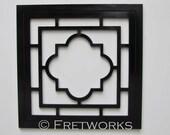 Reserved listing - Unfinished Quatrefoil panel