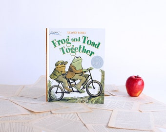 IPAD Cover- Tablet Case made from a vintage Book- Frog and Toad