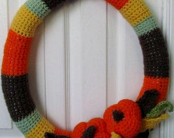 Fall crochet reef