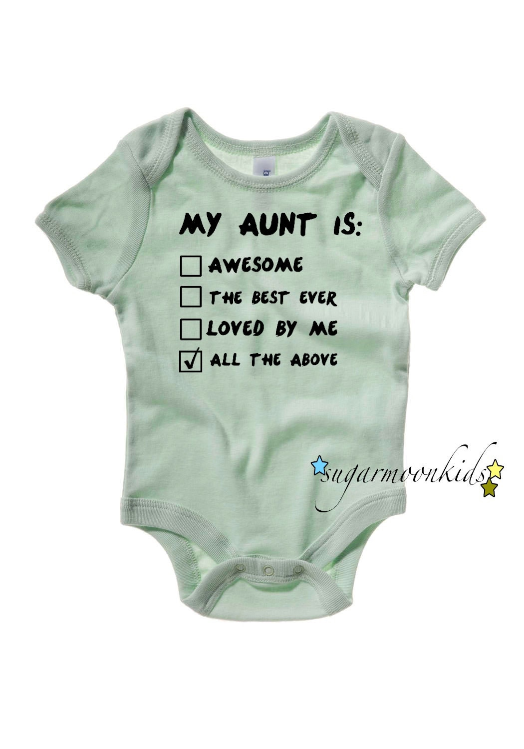 Aunt baby by sugarmoonkids on etsy
