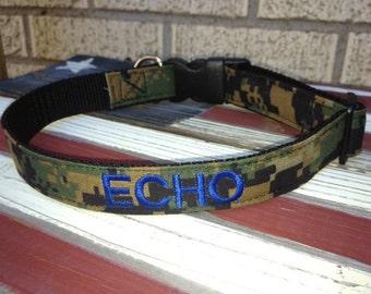 Military Dog Collar