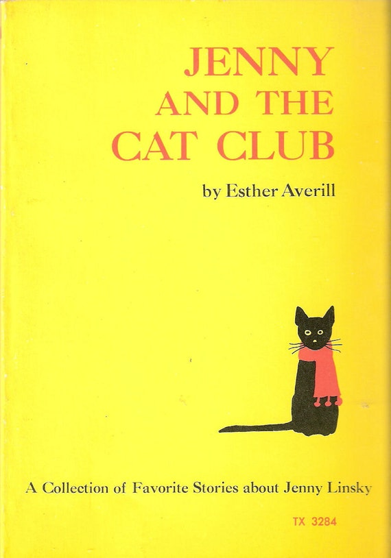 Jenny and the Cat Club by Esther Averill Scholastic TX 3284