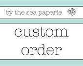 custom order for Cheri Caroll