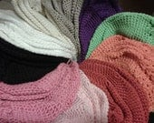 Handmade crocheted beanies (adult)