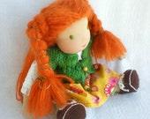 "Reserved for waldorfkindergarten Mala vila Waldorf  doll 13"""