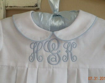 Infant Monogrammed Gown