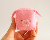 DIY pattern Pig Pincushion, pdf with pattern and tutorial step by step
