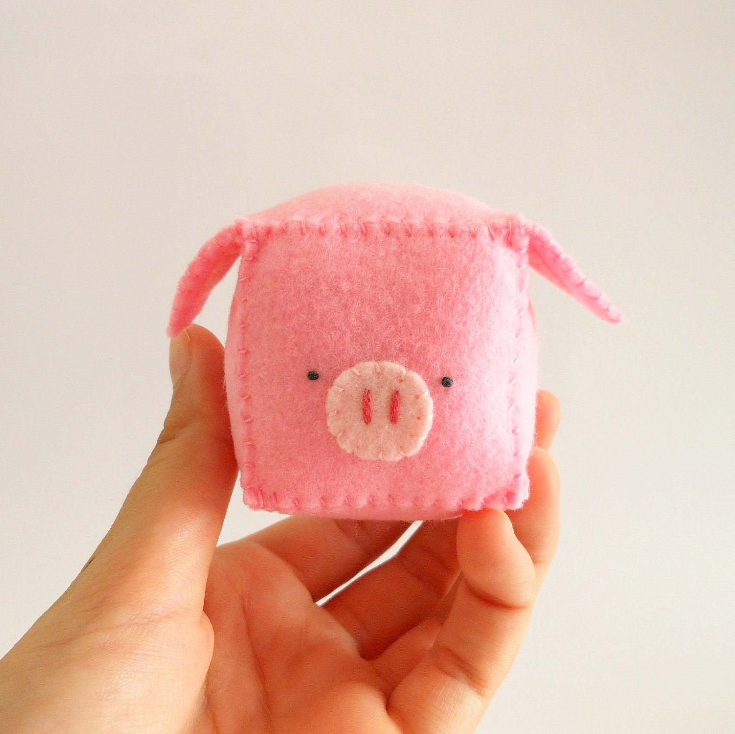 DIY pattern Pig Pincushion pdf with pattern by ...