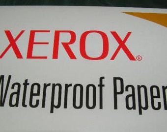 Waterproof & Tear Proof Paper