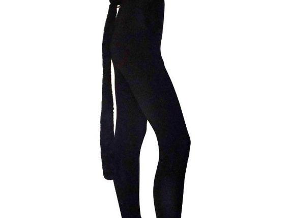 Halloween Black Leotard Cat Suit
