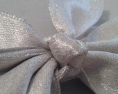 Silver Hairbow