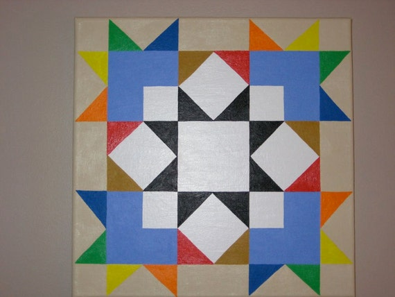 Chakra Quilt Barn Square. Yankee Pride By Quiltbarnsandfolkart
