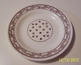 Vintage Restaurant Ware Oxford Plate