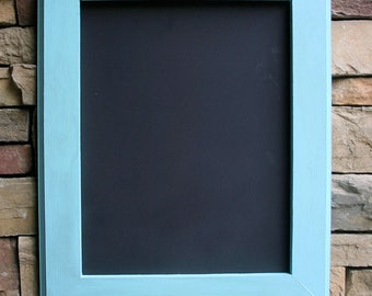 "18x22"" Aquamarine Framed Chalk Board"