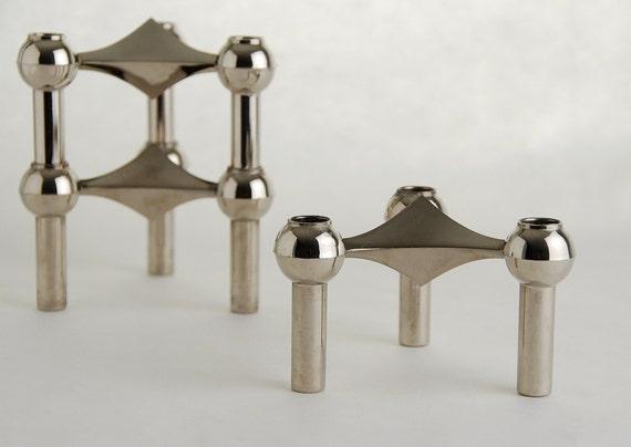 Nagel BMF Candlestick Holders, Set of 3
