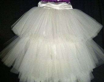 Ladies Custom Three Tiered Tulle Skirt