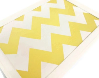 Custom Chevron Magnetic Makeup Board - Pick Your Colors, MADE TO ORDER